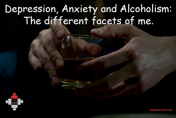 depression and anxiety among alcoholics and Risk factors of suicide among alcoholics psychological issues due to excessive alcohol abuse is anxiety, depression, and suicide.