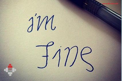 im fine save me