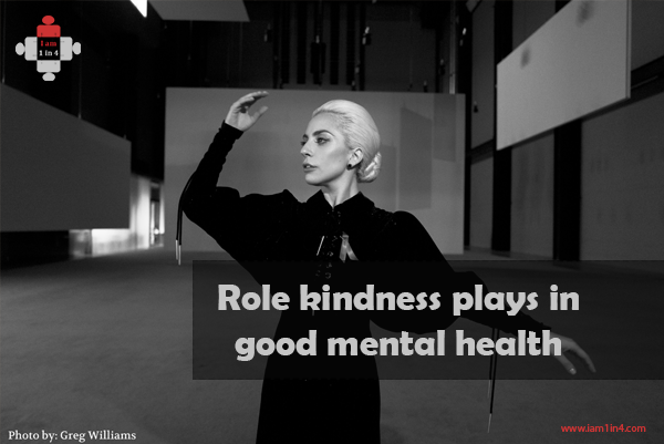 Role kindness plays in good mental health