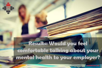 Would you feel comfortable talking about your mental health to your employer?