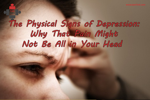 physical signs of depression