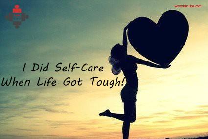 self-care is hard