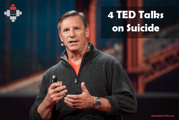 4 TED Talks on Suicide