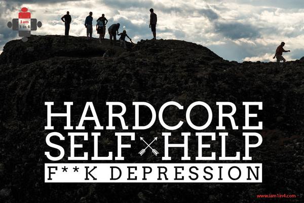 F**k Depression by Robert Duff