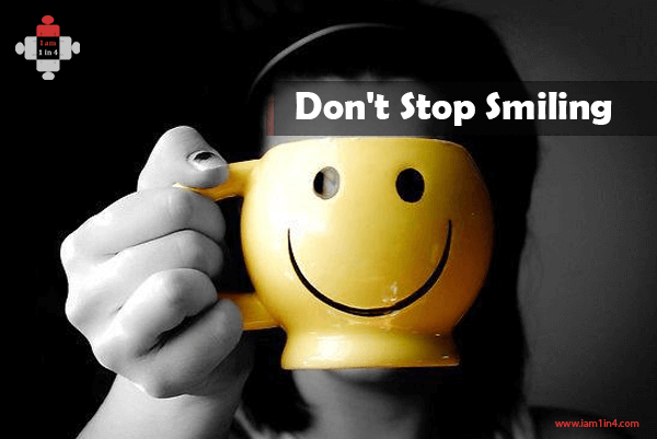 Don't Stop Smiling