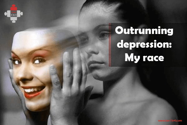 Outrunning depression My race