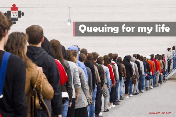 Queuing for my life
