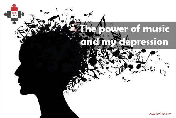 The power of music and my depression