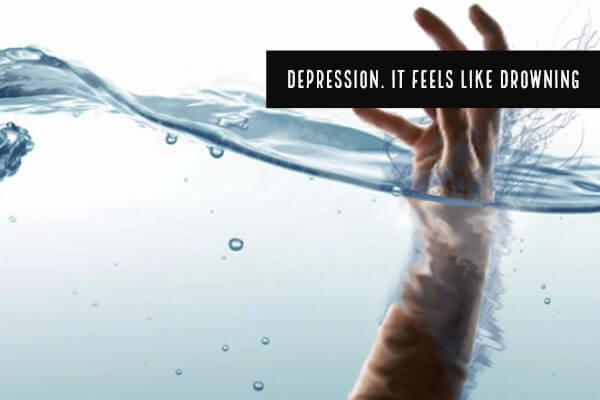 Depression. It Feels Like Drowning