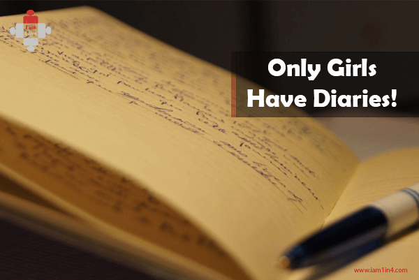 Only Girls Have Diaries