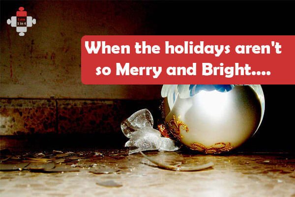 When the holidays aren't so Merry and Bright. all about Mom