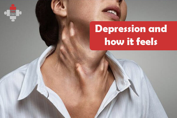 Depression and how it feels