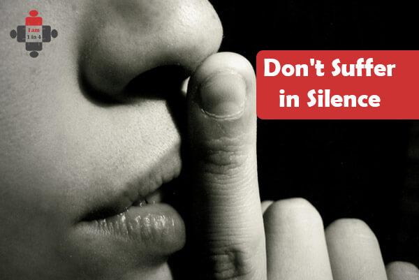 Don't Suffer in Silence