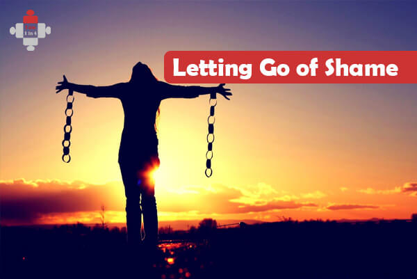 letting go of the shame