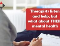 Therapists listen and help, but what about THEIR mental health?